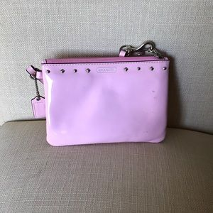 Coach Light Pink Wristlet